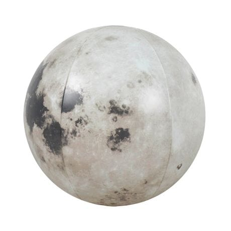 Glow In The Dark Moon Beach Ball