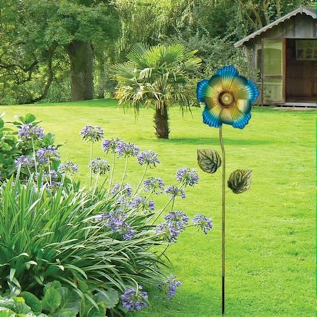 Bluetooth Flower Speaker - Blue