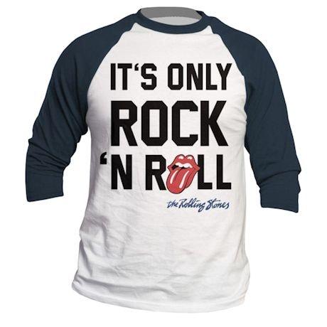 Rolling Stones Rock N' Roll Raglan