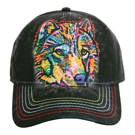 Animal Baseball Hats - Wolf