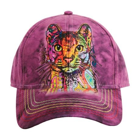 Animal Baseball Hats - Cat