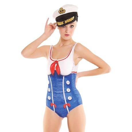 Sailor Girl Swimsuit