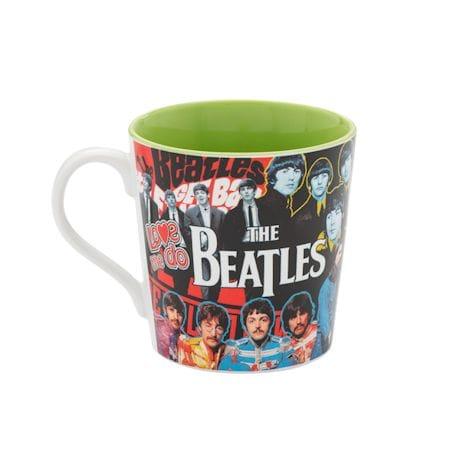 The Beatles Collage Coffee Mug
