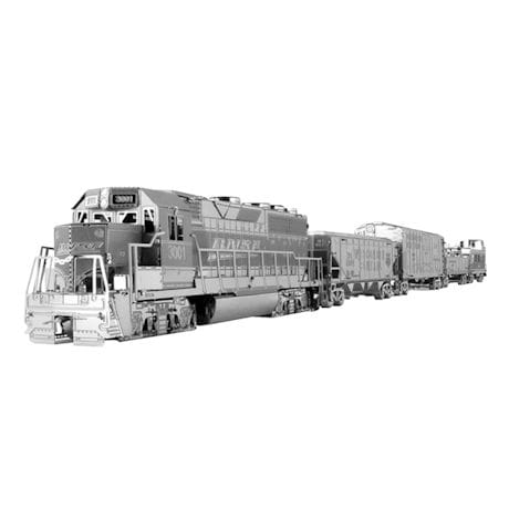 Metal Earth Freight Train Set