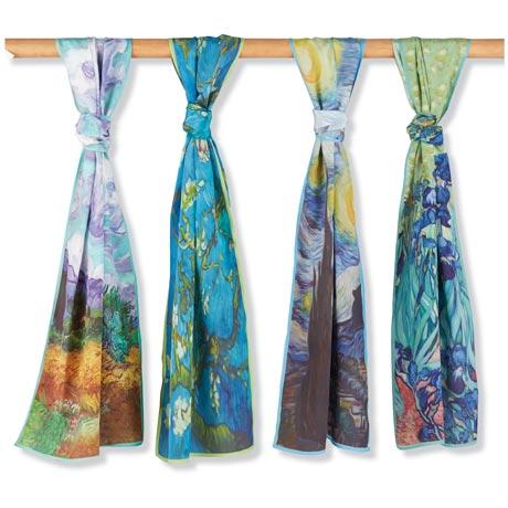 Van Gogh Silk Scarf