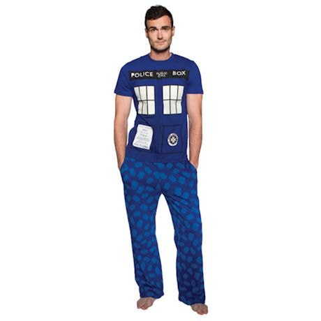 Doctor Who Tardis Glow In The Dark Lounge And Sleep Set