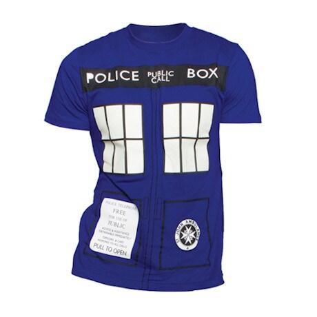 Doctor Who Tardis Glow-in-the-Dark T-Shirt