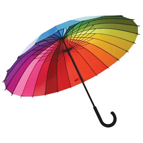 Rainbow Color Spectrum Umbrella