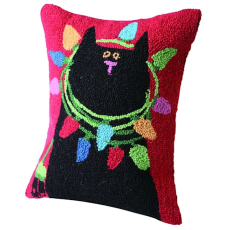 Christmas Pet Pillow - Cat