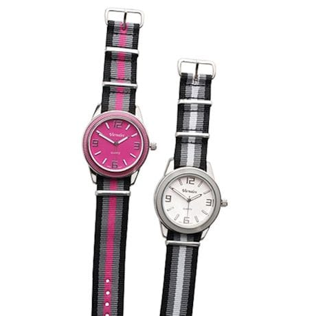Grosgrain Ribbon Watch