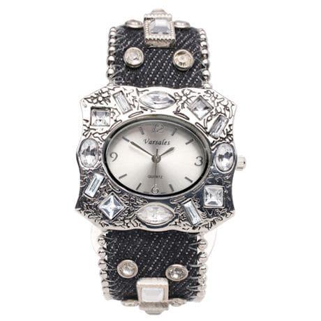 Sparkling Denim Watch