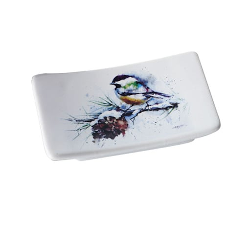 Watercolor Birds Soap Set - Chickadee