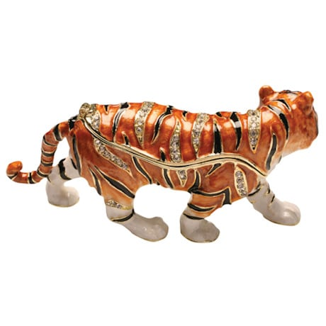 Serengeti Hinged Tiger Box