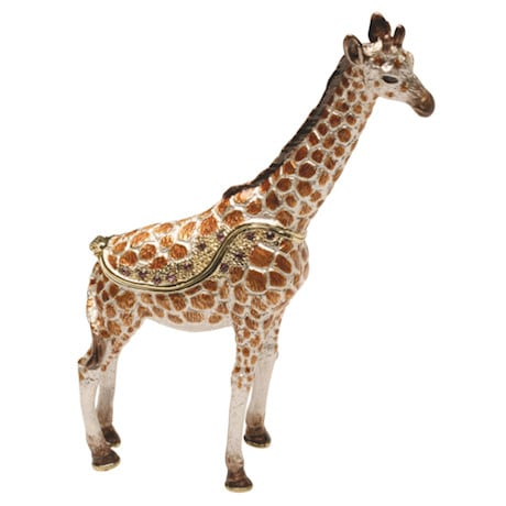 Serengeti Hinged Giraffe Box