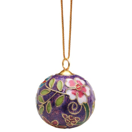 Cloisonné Ornaments Set of 4