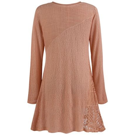 Lightweight Lace Tunic Top
