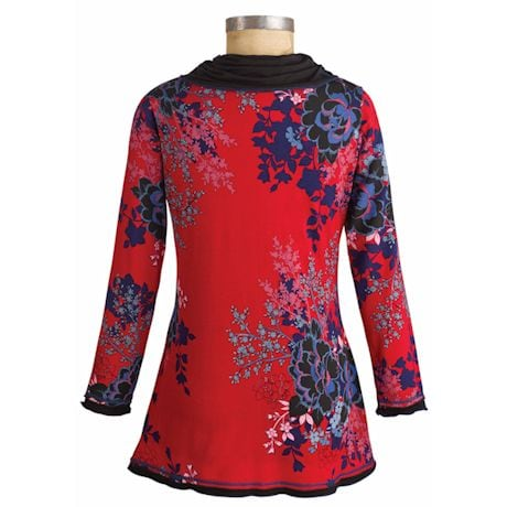 Asian Aster Tunic Top