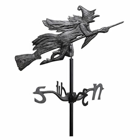 Flying Witch Weathervane