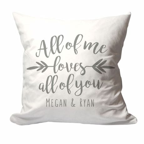 Personalized All Of Me Pillow