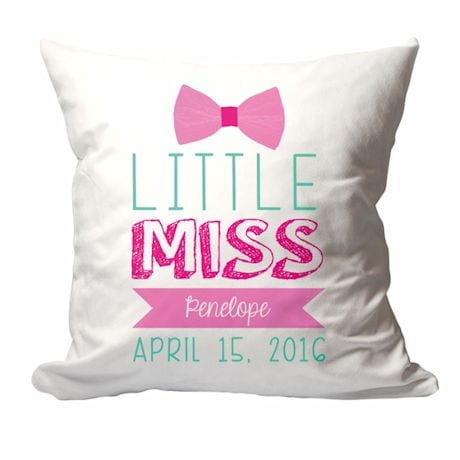 Personalized Little Miss Pillow
