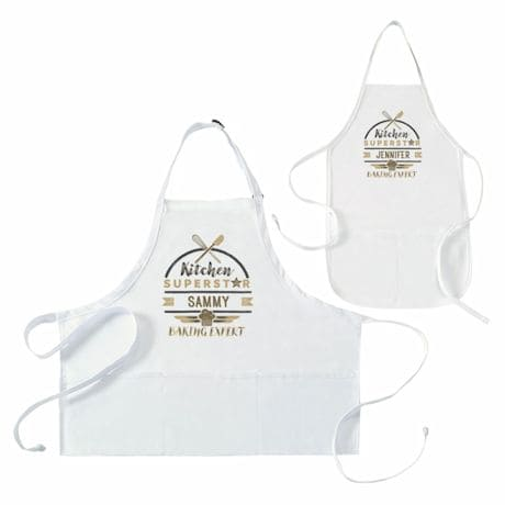 "Personalized Children's ""Kitchen Superstar"" Apron"