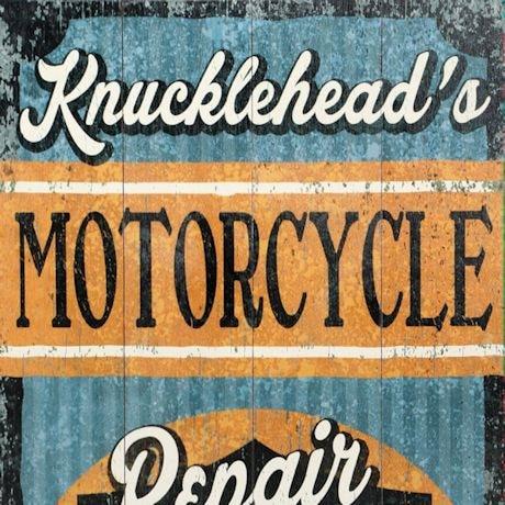 """Personalized Harley-Davidson® """"Repair & Restoration"""" Wood Wall Art"""
