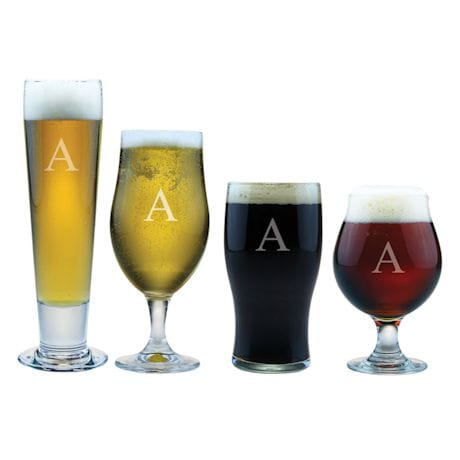 Personalized Craft Beer Assortment - Initial