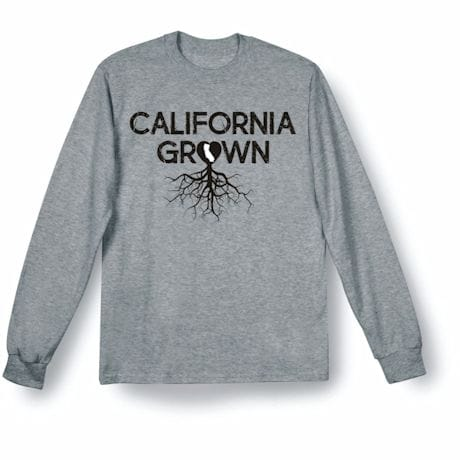 """Homegrown"" T-Shirt - Choose Your State - California"