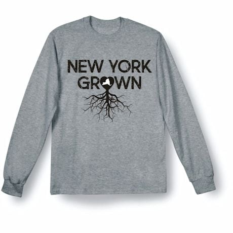 """Homegrown"" T-Shirt - Choose Your State - New York"