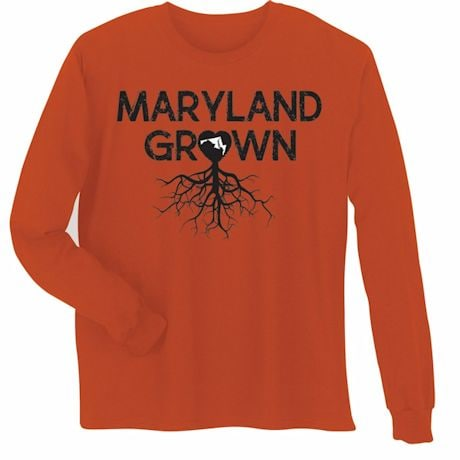 """Homegrown"" T-Shirt - Choose Your State - Maryland"