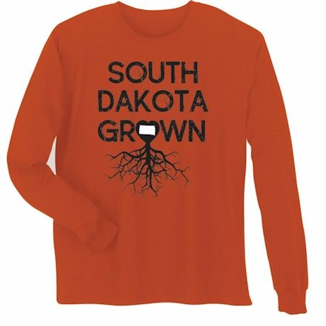 """Homegrown"" T-Shirt - Choose Your State - South Dakota"