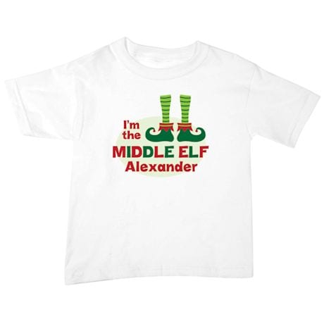 "Personalized ""Middle Elf"" Shirt"