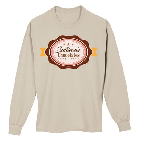 "Personalized ""Your Name"" Chocolate Tee"
