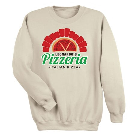 "Personalized ""Your Name"" Wood-Fired Pizza Tee"