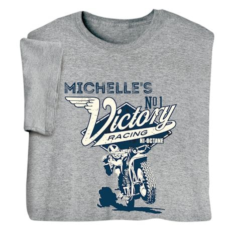 "Personalized ""Your Name"" Victory Racing Tee"