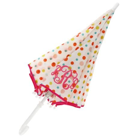 Monogrammed Children's Umbrella