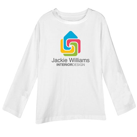"""Personalized """"Your Name"""" Contemporary Interior Design Tee"""