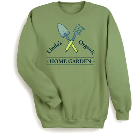 """Personalized """"Your Name"""" Organic Home Garden Tee"""