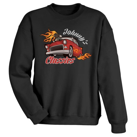"""Personalized """"Your Name"""" Classic Car Tee"""