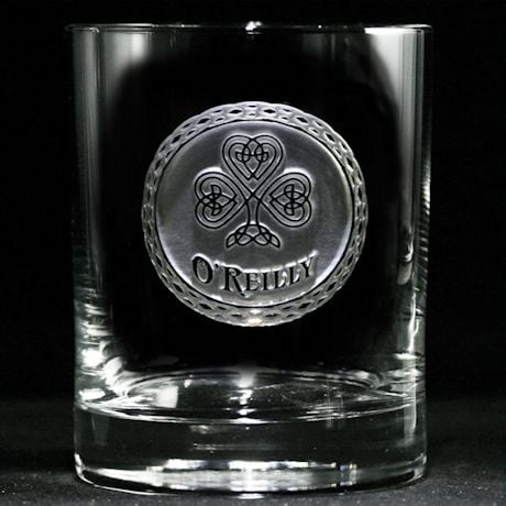 Personalized Irish Pride Whiskey Glass