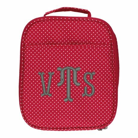 Monogrammed Children's Insulated Lunch Box