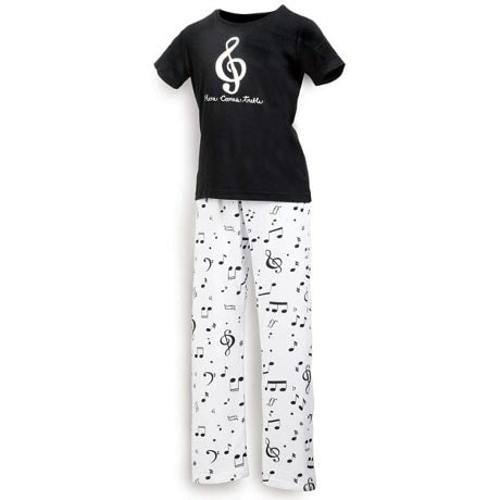 Here Comes Treble Loungewear - Tee