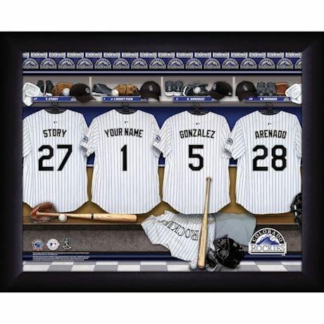 Personalized MVP Locker Room Photos-Major League Baseball