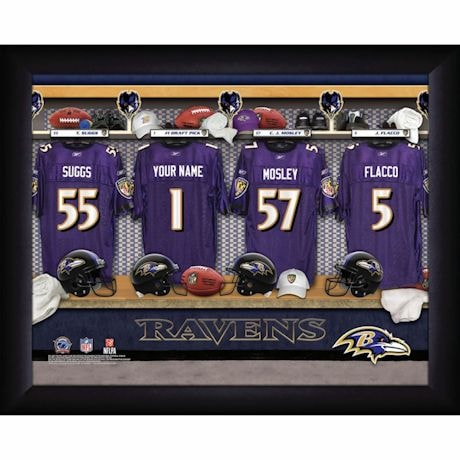 Personalized MVP Locker Room Photos-National Football League