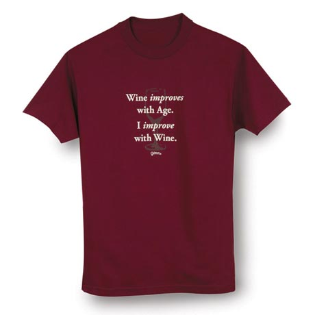 Improve With Wine Shirt