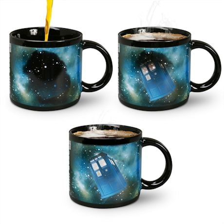 Doctor Who Heat Changing Mug with Disappearing Tardis