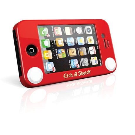 iPhone 4 Etch A Sketch Case