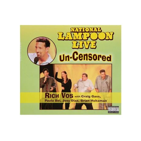 National Lampoon Live Uncensored CD
