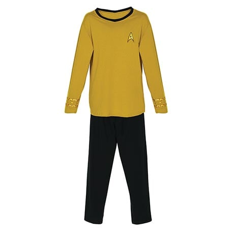 Star Trek® Pajamas in Kirk Yellow for Command
