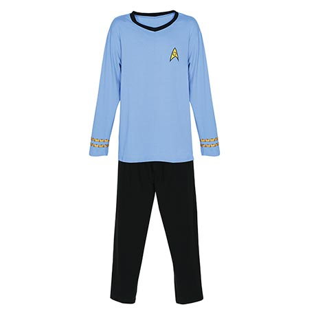 Star Trek® Spock Pajamas in Science Blue